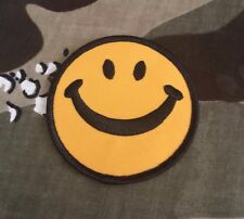 Smiley Face Embroidered Patch S025P Biker Hippie Harley Tattoo