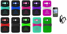 CC + LCD + Hybrid Case Phone Cover for Alcatel Onetouch Pixi PULSAR LTE A460G