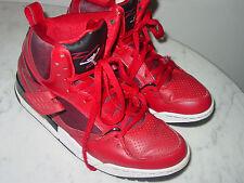 2013 Nike Air Jordan Flight 45 White/Gym Red/Black High Shoes! Size 9.5