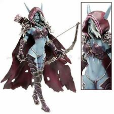 "WORLD OF WARCRAFT- SYLVANAS WINDRUNNER 18 CM/ FIGURE SYLVANAS 7"" NO BOX"