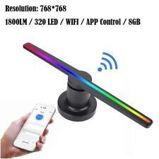 768*768 LED 3D WIFI Olografico Proiettore Ologramma Pubblicitario Fan Player 8GB
