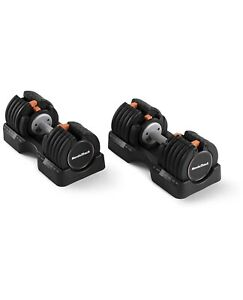 NEW NordicTrack 55lb Adjustable Dumbbell Set 110lb Total FAST SHIPPING🚚🚚💨💨