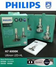 Genuine PHILIPS Ultinon 11972UL LED HL H7 6000K 160% Brighter Light Bulb x2 #gtc
