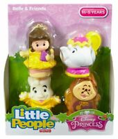 Disney Princess Beauty & The Beast Belle CHIP Lumiere Cogsworth Little People PK