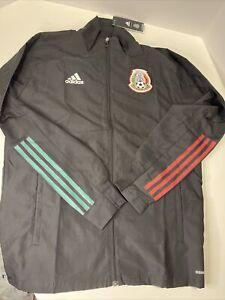 Adidas Men's Mexico Presentation Jacket  Black FH7847 Size Medium