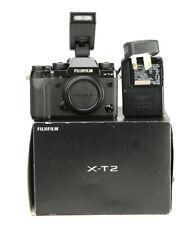 Fujifilm X-T2 Fuji Mirrorless Camera -Body Only boxed with Flash +12,692 Shots