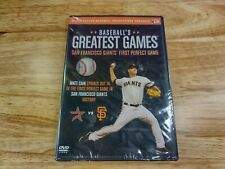 New listing Baseball's Greatest Games: San Francisco Giants First Perfect Game [DVD] NEW