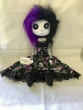 Gothic Handmade Rag Doll