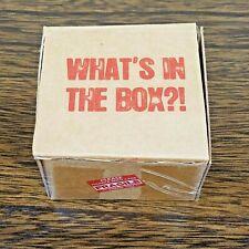 "Seven Se7en ""What's In The Box"" Miniature Movie Prop Replica Bam Box Exclusive"
