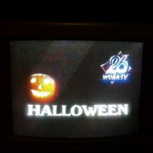Sold As Recordable Blank VHS Videotape Halloween WGBA Wisconsin 1988 COMMERCIALS