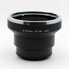 RAYQUAL HS-SaE lens mount adapter Hasselblad mount lens - αE mount body