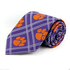 Clemson Tigers Mens Necktie South Carolina University College Logo Neck Tie New