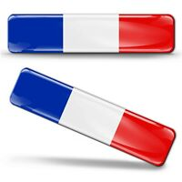 Autocollants 3D Drapeau Tricolore Français France National French Flag Stickers