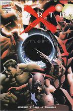 Earth X #0 Dynamic Forces Variant Signed  Avengers Thor Spider-Man Hulk X-Men