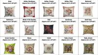Tapestry Fabric European Gobelin Decorative Pillow Cover Garden Collection