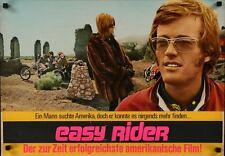 EASY RIDER Italian German fotobusta movie poster PETER FONDA DENNIS HOPPER 1969