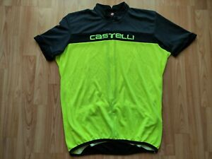 Castelli Prologo HD Men's 3/4 Zip Cycling Jersey Size:2XL NEW Without Tags!