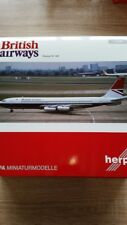 Herpa 558464 - 1/200 Boeing 707-400 - British Airways-Nouveau