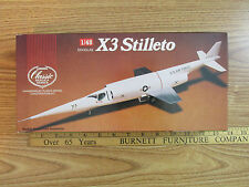 LINDBERG X3 STILLETO KIT NO 543 CLASSIC REPLICA MODEL 1989