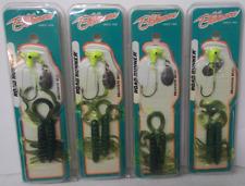 Blakemore Road Runner Branson Bug Lures Lot of 4 NOS New Unopened 1/8oz.