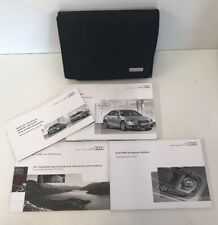 AUDI A4 OWNERS PACK / HANDBOOK COMPLETE WITH WALLET 2007-2011 (2009)
