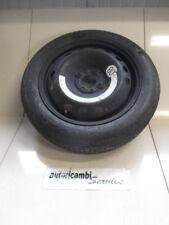 FIAT IDEA 1.9 DIESEL 5M 74KW (2005) RICAMBIO RUOTINO DI SCORTA T125/80 R15 ET35