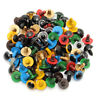 80pcs 10-18mm Color Plastic Safety Eyes Washer For Teddy Bear Doll Animal  🔥