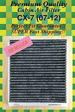 PREMIUM Carbonized CABIN AIR FILTER Free Fast Ship 07 08 09 10 11 12 CX-7 C25858