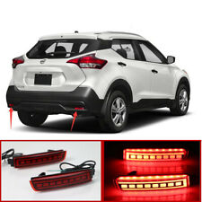 Rear Bumper Fog light decoration lamp led brake light for 2017-2019 NISSAN KICKS