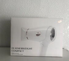 T3 Featherweight Compact Folding Hair Dryer Lightweight White & Silver