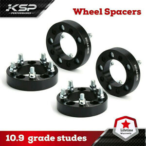 "(4) 1"" Wheel Spacers 5x114.3 to 5x4.5 for Jeep Wrangler TJ YJ XJ KJ KK ZJ MJ"