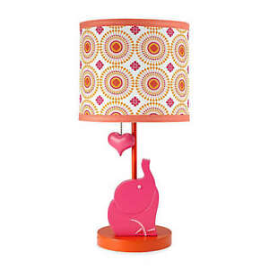 Happy Chic Baby By Jonathan Adler-Party Elephant Lamp & Shade
