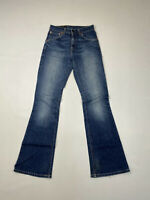 LEVI'S 525 BOOTCUT Jeans - W26 L32 - Navy - Great Condition - Women's