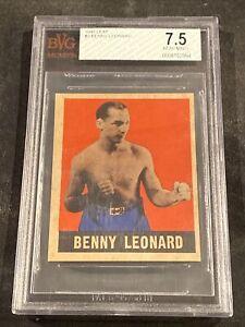 1948 Leaf #3 Benny Leonard BVG 7.5 Boxing Card