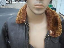Vintage Type G-1 Leather Flight jacket Mfg Star Sportswear Size 42