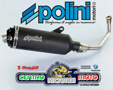 Marmitta Scarico POLINI Nero Honda SH 125 i 150 i 2012 2013 2014 2015 1016
