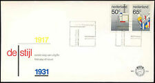 Netherlands 1983 De Stijl Art Movement FDC First Day Cover #C27814