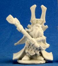 1x HERRYK - BONES REAPER figurine jdr rpg d&d dwarf cleric nain pretre 77220