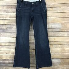 Gap Womens Jeans Stretch Boyfriend Flare Trouser Style Medium Wash Size 27 4