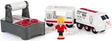 Brio RC TRAVEL TRAIN Baby/Toddler/Kids Wooden Nursery Railway Toy/Gift BN