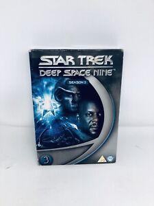 Star Trek Deep Space Nine : Season 3 DVD REGION 4 BOX SET Good Condition