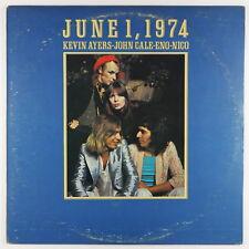 Kevin Ayers, John Cale, Brian Eno & Nico - June 1, 1974 LP - Island VG++