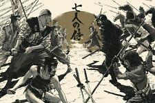 Bottleneck Kurosawa Seven Samurai Regular Juan Esteban Rodriguez Mondo 100 Ed.