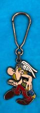 Vintage Goscinny Underzo Asterix Enameled Metal Key Chain Paris Collectable