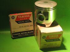 YAMAHA YZ125 E '78 YAMAHA PISTON & RINGS 1ST OVER SIZE 0.25MM OEM #2K6-11635-00