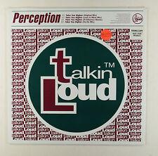 "PERCEPTION - TAKE YOU HIGHER ( UK PROMO 4 TRACK 12"" ) EXCELLENT VINYL"
