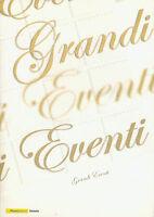 """GE28 Folder filatelico """" GRANDI EVENTI """" Duccio di Buoninsegna 2003"""