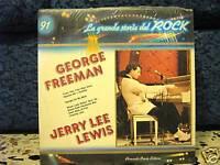 GEORGE FREEMAN-JERRY LEE LEWIS-storia del rock n.91mint