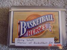 1991-92 UPPER DECK JERRY WEST HEROES OF BASKETBALL SET