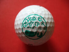 Pelota de golf con logotipo Düsseldorfer golf club de logotipo Ball como amuleto de regalo...